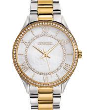 Γυναικείο ρολόι GREGIO Matie Crystals GR180050 Γυναικείο ρολόι Gregio με λευκό χρώμα καντράν και μπρασελέ από ανοξείδωτο ατσάλι.