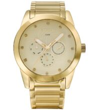 Γυναικείο ρολόι GREGIO Aurelian GR104022 Γυναικείο ρολόι Gregio με χρυσό χρώμα καντράν και μπρασελέ από ανοξείδωτο ατσάλι.