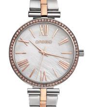 Γυναικείο ρολόι GREGIO Gisele GR190040 Γυναικείο ρολόι Gregio με λευκό χρώμα καντράν και μπρασελέ από ανοξείδωτο ατσάλι.