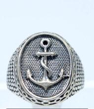 Ανδρικό Δαχτυλίδι Ασημένιο 925 Το δαχτυλίδι βγαίνει σε όλα τα μεγέθη ( Νο 9, 10, 11, 12 ) και η παράδοση θα γίνει εντός 10 ημερών.