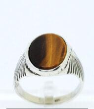 Ανδρικό Δαχτυλίδι 925 με Ημιπολύτιμους Λίθους. Το δαχτυλίδι βγαίνει σε όλα τα μεγέθη και τις πέτρες που βλέπετε στα χαρακτηριστικά.