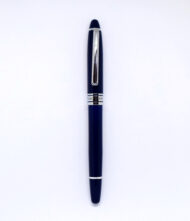Ξύλινο στυλό σε σχεδιασμό vintage σε μπλε χρώμα