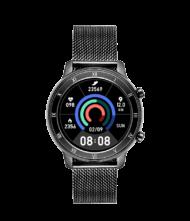 Γυναικείο ρολόι VOGUE Smartwatch ASTRID 200352 με μαύρο μπρασελέ από ανοξείδωτο ατσάλι