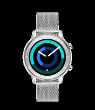 Γυναικείο ρολόι VOGUE Smartwatch ASTRID 200352 με ασημί μπρασελέ από ανοξείδωτο ατσάλι