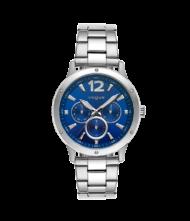 Γυναικείο ρολόι VOGUE Mastery 551181 Γυναικείο ρολόι Vogue με μπλε χρώμα καντράν και ασημί χρώμα μπρασελέ.