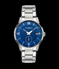 Γυναικείο ρολόι VOGUE Thousand 551281 Γυναικείο ρολόι Vogue με μπλε χρώμα καντράν και ασημί χρώμα μπρασελέ.