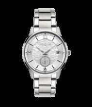 Γυναικείο ρολόι VOGUE Thousand 551283 Γυναικείο ρολόι Vogue με ασημί χρώμα καντράν και ασημί χρώμα μπρασελέ.