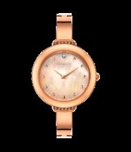 Γυναικείο ρολόι VOGUE Caprice II 812354 Γυναικείο ρολόι Vogue με ροζ χρυσό χρώμα καντράν και ροζ χρυσό χρώμα μπρασελέ.