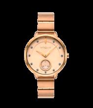 Γυναικείο ρολόι VOGUE Forum 815052 Γυναικείο ρολόι Vogue με ροζ χρυσό χρώμα καντράν και ροζ χρυσό χρώμα μπρασελέ.