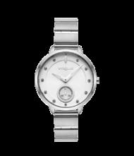 Γυναικείο ρολόι VOGUE Forum 815081 Γυναικείο ρολόι Vogue με ασημί χρώμα καντράν και ασημί χρώμα μπρασελέ.