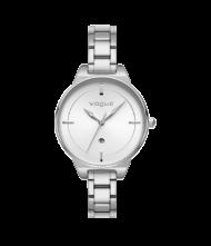 Γυναικείο ρολόι VOGUE Concord 815181 Γυναικείο ρολόι Vogue με λευκό χρώμα καντράν και ασημί χρώμα μπρασελέ.