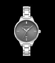 Γυναικείο ρολόι VOGUE Concord 815182 Γυναικείο ρολόι Vogue με ανθρακί χρώμα καντράν και ασημί χρώμα μπρασελέ.