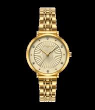 Γυναικείο ρολόι VOGUE New Bliss 815342 Γυναικείο ρολόι Vogue με χρυσό χρώμα καντράν και χρυσό χρώμα μπρασελέ.