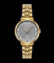 Γυναικείο ρολόι VOGUE New Bliss 815343 Γυναικείο ρολόι Vogue με γκρι χρώμα καντράν και χρυσό χρώμα μπρασελέ.