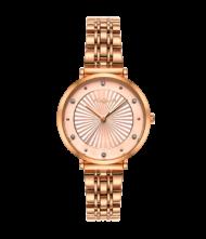 Γυναικείο ρολόι VOGUE New Bliss 815352 Γυναικείο ρολόι Vogue με ροζ χρυσό χρώμα καντράν και ροζ χρυσό χρώμα μπρασελέ.