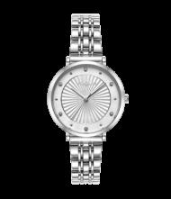 Γυναικείο ρολόι VOGUE New Bliss 815381 Γυναικείο ρολόι Vogue με ασημί χρώμα καντράν και ασημί χρώμα μπρασελέ.