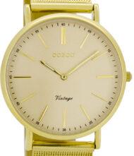 OOZOO Timepieces Vintage Gold Bracelet C8149