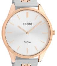 OOZOO Timepieces Vintage Two Tone Stainless Steel Bracelet C9891