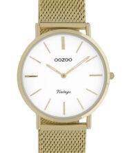 OOZOO Timepieces Vintage Gold Metal Bracelet C9911