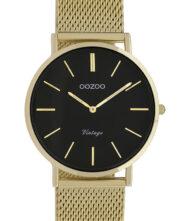 OOZOO Vintage Gold Metallic Mesh Bracelet C9915