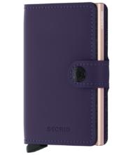Πορτοφόλι Secrid Miniwallet Matte Purple - Rose