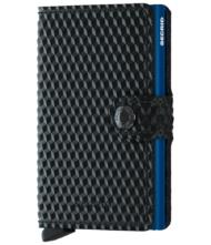 Πορτοφόλι Secrid Miniwallet Cubic Black-Blue