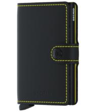 Πορτοφόλι Secrid Miniwallet Matte Black & Yellow