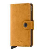 Πορτοφόλι Secrid Miniwallet Vintage Ochre