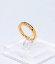 Δαχτυλίδι Χρυσό Κ18 με Διαμάντια BR/Δ/24. Γυναικείο δαχτυλίδι από λευκό χρυσό 18 καράτια με διαμάντια σε κοπή μπριγιάν(Br).