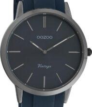 Unisex ρολόι ΟΟΖΟΟ με γκρι χρώμα καντράν και με μπλε χρώμα λουράκι. Η διάμετρος της κάσας είναι 42mm και είναι κατασκευασμένη από μέταλλο.